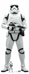 Star Cutouts SC1426 Star Wars First Order Stormtrooper (The Rise of Skywalker) Perfect Star Wars Gift, Shop Window , Décor Height 182cm
