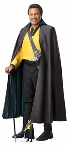 Star Cutouts SC1430 Star Wars Lando (The Rise of Skywalker) Perfect for Star Wars Parties, Fans and Collectors Height 184cm