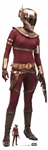 Star Cutouts SC1431 Star Wars Zorri Bliss (The Rise of Skywalker) Perfect for Star Wars Parties, Fans and Collectors Height 174cm