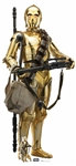 Star Cutouts SC1432 Star Wars C-3PO (The Rise of Skywalker) Perfect for Parties, Events, Wedding Decorations and Collectors Height 176cm