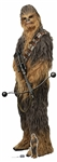 Star Cutouts SC1433 Star Wars Chewbacca (The Rise of Skywalker) Perfect for Parties, Events, Wedding Decorations and Collectors Height 231cm