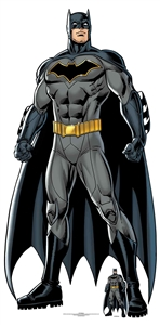 SC1455 Star Cutouts Batman Caped Crusader Great Fun For DC Comics Fans and Parties Height 189cm