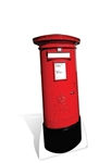 Star Cutouts Post Box Lifesize Cardboard Cutout
