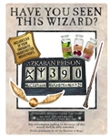 SC1475 Official Star Cutouts White Harry Potter Wanted Poster as Selfie Frame With Props The Prisoner of Azkaban Height 87cm Width 70cm
