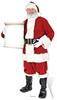 Santa with Small Sign Father Christmas Lifesize Cardboard Cutout
