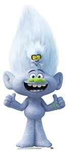 SC1505 Star Cutouts MINI Diamond Guy with Tiny Great for Trolls Fans Height 91cm Width 41cm