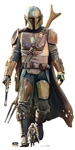 SC1516 The Mandalorian Lone Gunfighter Lifesize Cardboard Cutout/ Standee/ Stand Up Star Wars Height 182cm