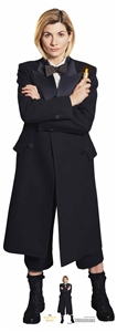 Star Cutouts Ltd SC1517 13th Doctor Who  Jodie Whittaker Spyfall Suit Lifesize Cardboard Cutout/ Display/ Decoration Height 167cm Width 59cm