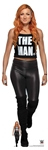 Star Cutouts SC1520 WWE Becky Lynch The Man Lifesize Cardboard Cutout/ Stand Up/ Standee Height 169cm Width 53cm