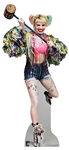 Star Cutouts SC1521 Harley Quinn Swinging Mallet Margot Robbie Birds of Prey Height 183cm Width 83cm