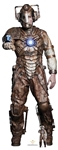 Star Cutouts Ltd SC1522 Ashad The Lone Cyberman Doctor Who Lifesize Cardboard Cutout/ Display/ Decoration Height 193cm Width 73cm
