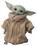 SC1536 The Child Baby Yoda Cardboard Cutout Wise Head Tilt The Mandalorian Star Wars Height 95cm