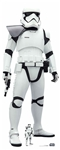 Star Cutouts SC1541 Star Wars First Order Stormtrooper (The Rise of Skywalker) - Shoulder Flash Perfect for Star Wars Parties, Fans and Collectors Height 182cm