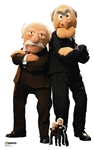 SC1566 Statler and Waldorf  Lifesize Cardboard Cutout with Free Mini Standee