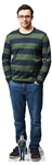 SC1569 Adam Friday Night Dinner Simon Bird Lifesize Cardboard Cutout/Standee/Standup