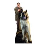 SC1571 Jim Mark Heap and Wilson Dog Good Boy Friday Night Dinner Cardboard Cutouts With Free Mini Standee