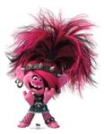 SC1590 Star Cutouts Poppy Punk Trolls Perfect for Parties and Events Height 94cm Width 72cm