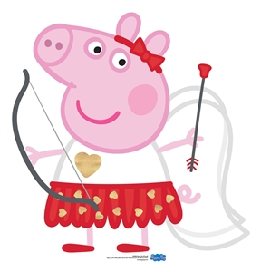SC1591 Peppa Pig Cupid Bow & Arrow