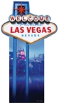 Star Cutouts Vegas Sign Lifesize Cutout