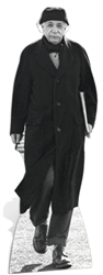 Star Cutouts Ltd SC174 Albert Einstein Genius Physicist Theory  Lifesize Cardboard Cutout Perfect For Fans, Themed Events and Parties