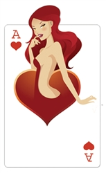 Perfect for those with a love of Vegas and Casino Nights. This cut out is brilliant and looks great stood with the other cards.