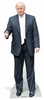Star Cutouts Ltd SC1950 Donald Trump (Pink Tie Thumbs Up) President of United States of America Lifesize Cardboard Standee