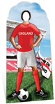 Star Cutouts Ltd SC199 England Football Stand-In Perfect for Sports Fans, Parties and Event Decoration Height 188cm