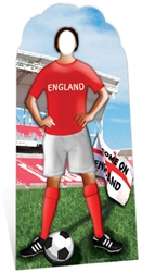 Star Cutouts England Football Stand-In