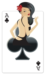 Ace of Clubs Cardboard Cutout