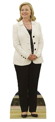 Hilary Clinton White Jacket