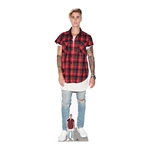 Star Cutouts Justin Bieber Lifesize Cut Out.