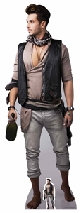 Star Cutouts Male Pirate with Bottle of Rum Lifesize Cardboard Cutout