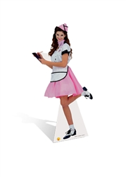 SC216 Soda Pop Girl  1950s and 1960s Perfect for 50's parties and events Height 176cm