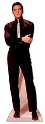Star Cutouts Elvis Presley in Black Suit and White Tie