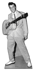Elvis Guitar hanging from neck