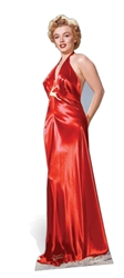 Star Cutouts Ltd SC245 Marilyn Monroe Red Gown Lifesize Cardboard Cutout Perfect for  1950S 1960s Parties, Customers, Themed Weddings, Displays and Events Height 177cm