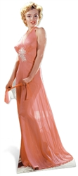 Marilyn Monroe 'Peach Night-Gown'