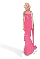 Marilyn Monroe 'Pink Evening Gown'