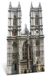 Star Cutouts Westminster Abbey British Landmark