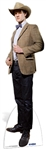 The 11th Doctor Who Matt Smith' Stetson' Lifesize Cardboard Cutout