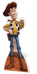 Star Cutouts Official Disney Woody Toy Story Cardboard Standee