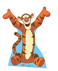 Star Cutouts Tigger Star-Mini Cardboard Cutout