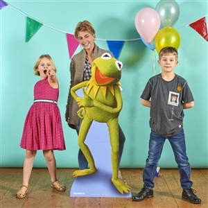 Star Cutouts Kermit the Frog Official Disney Lifesize Cardboard Cutout