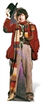 Tom Baker - Fourth Doctor Who Official Lifesize Cardboard Cutout