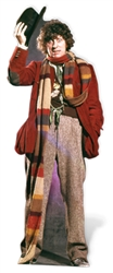 SC406 Star Cutouts Ltd Tom Baker - Fourth Doctor Perfect for Decade Parties, Doctor Who Fans and Events Height 181cm