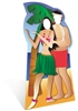 Star Cutouts Hawaiin Couple Stand-In Lifesize Cardboard Cutout