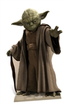 Star Cutouts Yoda Star-Mini Star Wars Official Cardboard Cutout
