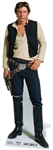 Manufactured by Star Cutouts Han Solo Star Wars Official Han Solo Star Wars Harrison Ford Lifesize Cardboard Cutout