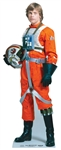 Star Cutouts Ltd SC483  Luke Skywalker Lifesize Cardboard Cutout Perfect for Star Wars Fans, Events, Parties and Displays Height 184cm
