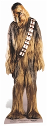 Star Cutouts Chewbacca Classic Star Wars Official Lifesize Cardboard Cutout